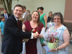 Wir gratulieren Saskia und Thomas zur Hochzeit